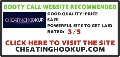 CheatingHookup.com booty call site