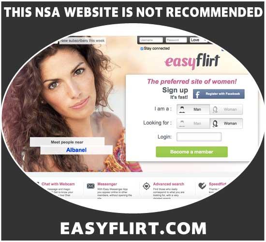 EasyFlirt.com homepage