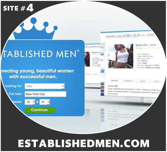EstablishedMen.com homepage