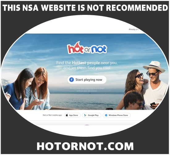 HotOrNot.com homepage