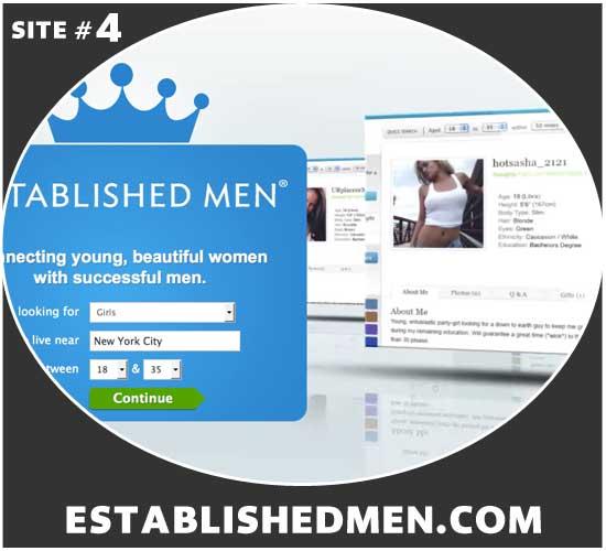 EstablishedMen.com homepage