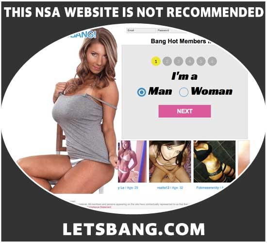 LetsBang.com homepage